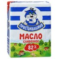 Масло ПРОСТОКВАШИНО сладко-сливочное 82% 180г