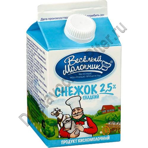 Молочный продукт снежок в домашних условиях