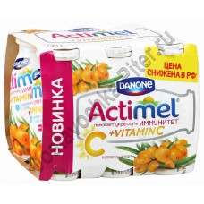 Продукт к/м Actimel облепиха 2,5% 100г