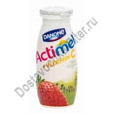Продукт к/м Actimel 2,5% 100г киви/клубника