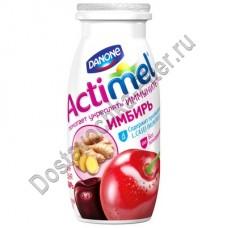 Продукт к/м Actimel вишня/черешня с имбирем 2,5% 100г