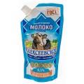 Молоко сгущенное Алексеевское с сахаром 8,5% 270г дой-пак