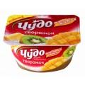 Десерт творожный Чудо Экзотический микс ананас/киви/манго 4,2% 100г