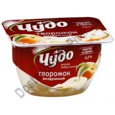 Десерт творожный Чудо персик/груша 4,2% 100г