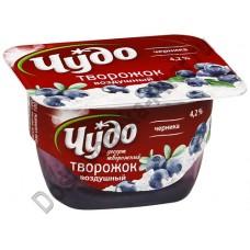 Десерт творожный Чудо черника 4,2% 100г