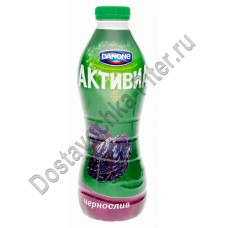 Биойогурт Danone Активия обогащенный Чернослив 2% 870г п/бутылка