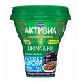Биойогурт питьевой Активия ежевика/семена льна 1,3% 250г