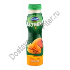 Биойогурт Danone Активиа обогащенный манго/яблоко 2,2% 290г