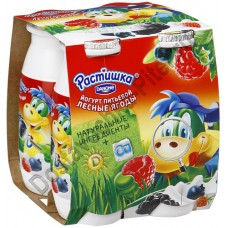 Йогурт РАСТИШКА питьевой лесные ягоды 1,6% 90г