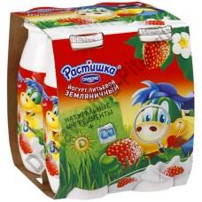 Йогурт РАСТИШКА питьевой земляника 1,6% 90г