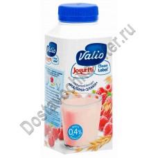 Йогурт ВАЛИО питьевой малина злаки 0,4% 330г
