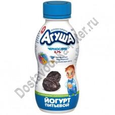 Йогурт АГУША чернослив 2,7% 200г