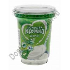 Йогурт Большая Кружка традиционный 2% 350г