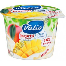 Йогурт ВАЛИО 2,6% манго 180г