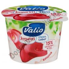 Йогурт ВАЛИО 2,6% вишня 180г