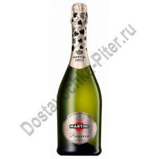 Вино игристое Мартини Просекко сухое белое 11,5% 0,75л