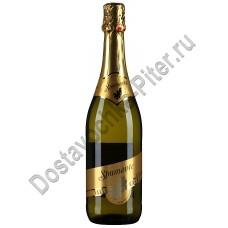 Вино игристое Валле Кальда Дольче белое сладкое 9,5% 0,75л