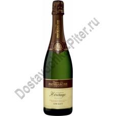 Вино игристое Патриарш Эритаж белое сладкое 11% 0,75л