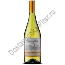 Вино Санта Рита Шардоне Резерва белое сухое 13,5% 0,75л