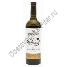 Вино Крю Лермонт Совиньон Блан Фанагория белое сухое 12-14% 0,75л