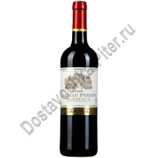 Вино Шато Перику  кр. сухое 12,5% 0,75л