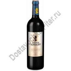 Вино Диего де Альмагро ДО Вальдепеньяс кр/сух 0,75л 12,5%