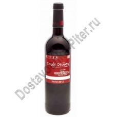 Вино Конде Отинано Тинто кр. сухое 12% 0,75л Испания