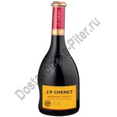 Вино Жан Поль Шене красное полусладкое 11% 0,75л (Франция)