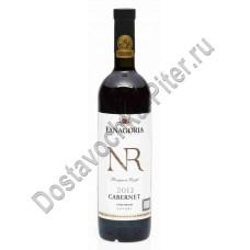 Вино Каберне Фанагории Бордолеза красное сухое 12-14% 0,75л