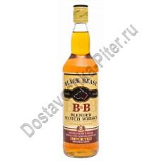 Виски Блэк Бист 40% 0,7л