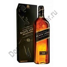 Виски Джонни Уокер черн/этик 43% 0,5л п/у