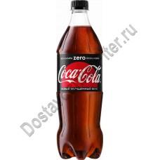 Напиток Кока-Кола Зеро б/алк газ 0,9л пэт