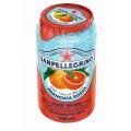 Напиток S.Pellegrino красный апельсин б/а газ 0,33л ж/б