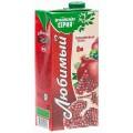 Напиток Любимый ябл/гранат/чернопл.рябина 0,95л т/пак