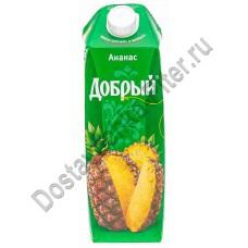 Нектар Добрый ананас 1л т/п