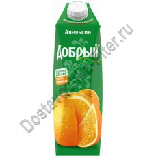 Нектар Добрый апельсин 1л т/п