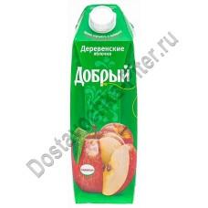 Нектар Добрый Деревенские яблочки 1л т/п