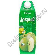 Сок Добрый яблоко осветленный 1л т/п