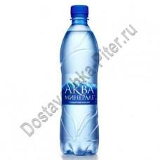 Вода Аква Минерале газ 0,6л