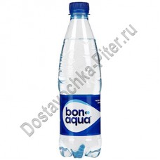 Вода Бон Аква газированная 0,5л