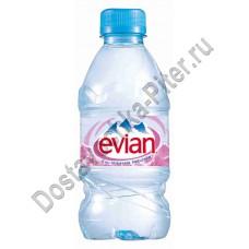 Вода Evian мин природ столовая негаз 0,33л пэт