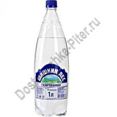 Вода Шишкин Лес питьевая газированная 1л