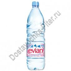 Вода Evian мин природ столовая негаз 1,5л пэт