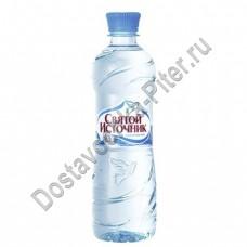 Вода питьевая Святой Источник н/газ стол 0,5л пэт