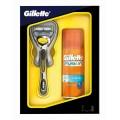 Набор Gillette Fusion ProShield Бритва с 1 сменной кассетой+Гель д/бритья Увлажняющий 75мл