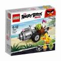 Конструктор Lego Angry Birds Побег из машины свинок арт.75821