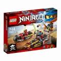 Конструктор Lego Ninjago Погоня на мотоциклах 70600