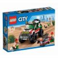Конструктор Lego city town внедорожник 4x4 арт.60115