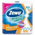 Полотенца бумажные Zewa дизайн с рисунком 2шт