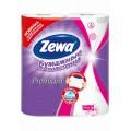 Кухонные полотенца Zewa Премиум Белые/Декор 2сл 2рул